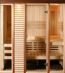 Luxury Domestic sauna cabin