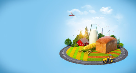 Agrarian background