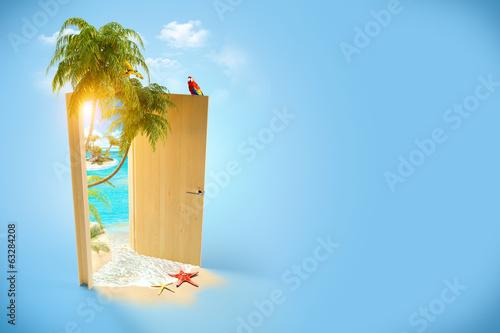 tropical paradise - 63284208