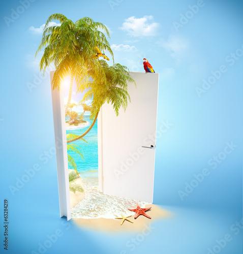 tropical paradise - 63284219