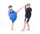 Kickboxing fight