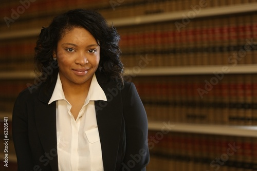 Portrait African America Woman Lawyer