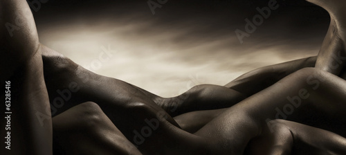 Leinwandbild Motiv corpi di nudo artistico