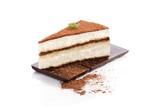 Obraz na płótnie Tiramisu dessert.