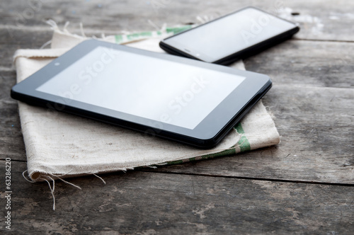 tablet computer and smart phone