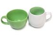 Two ceramic pots