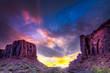 Zdjęcia na płótnie, fototapety, obrazy : Sunset in the Utah Desert