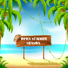 Open summer season