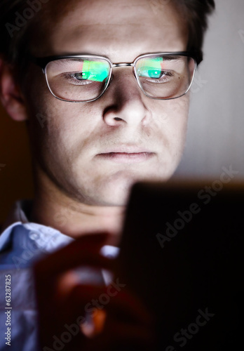 Tablet reflect glasses
