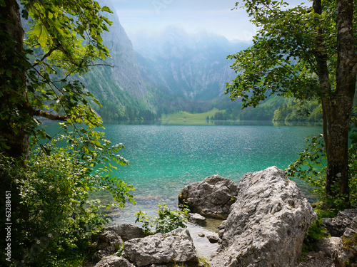 Obersee lake, Berchtesgaden, Germany