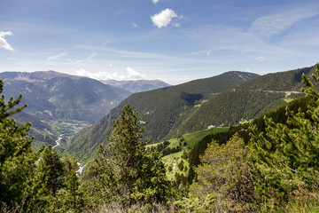Pyrenees at Andorra