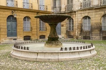Brunnen Place d´Albertas