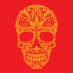 Skull Ornamental