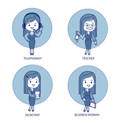 Four professions for women