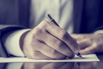Writing correspondence