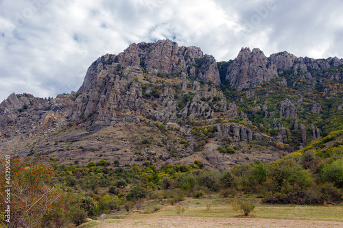 mountain landscape Crimea