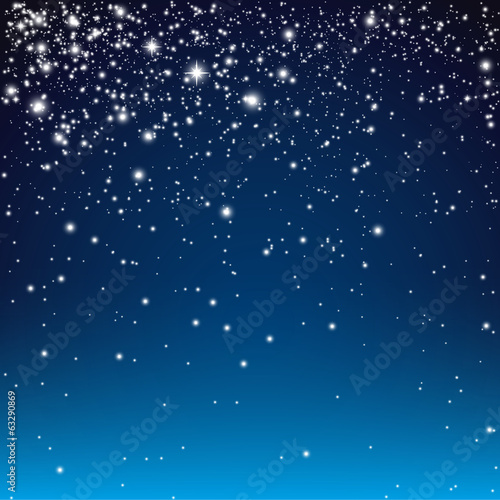 Starry Blue Background