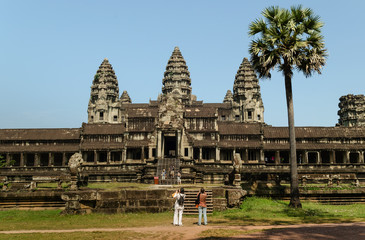 The temple of Angkor Wat, Siem Reap