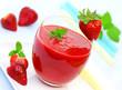 Erdbeeren, Smoothie