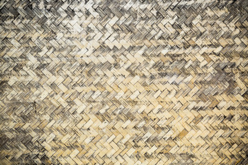Old wicker texture background