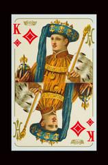 Karo König in Kaisers Kleider