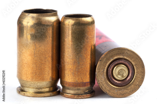Used bullet casings