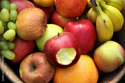 canvas print picture Obst