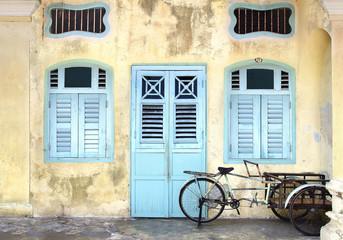 Rickshaw. Georgetown, Malaysia
