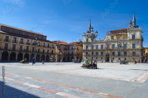 Leon, Plaza Mayor