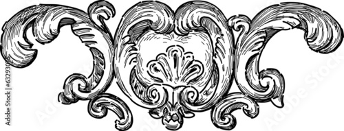 baroque architectueal detail