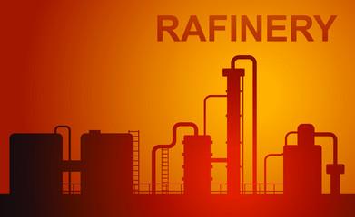 oil rafinery