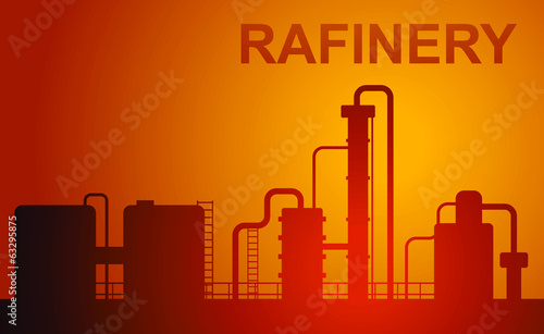oil rafinery
