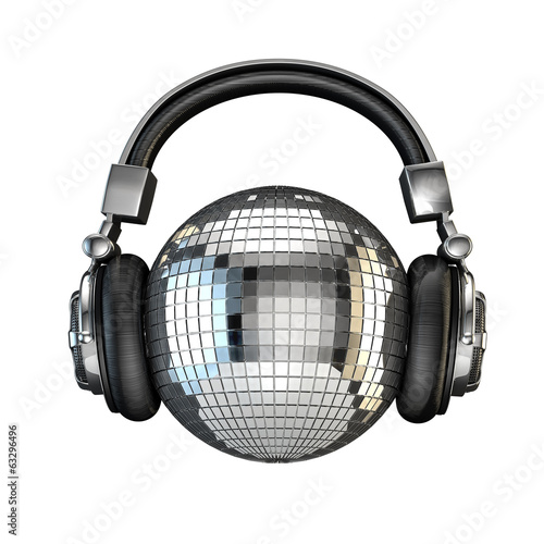 Headphone disco ball