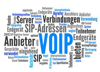 VOIP (Voice over IP, Internettelefonie)