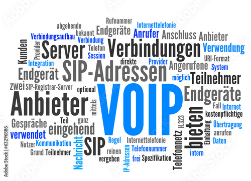 VOIP (Voice over IP, Internettelefonie)