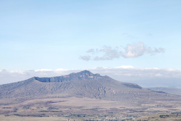 Huge Crater of Mount Longonot