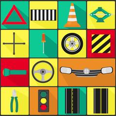 Car Parts - Icons