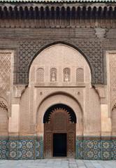 Porte Medersa Ali Ben Youssef
