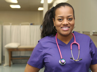 Medical Professional Nurse, African American