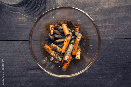 Cigarette butts - anti-smoke