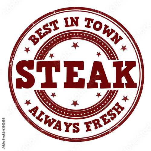 Steak stamp