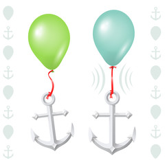 Conceptual balance between balloon and anchor