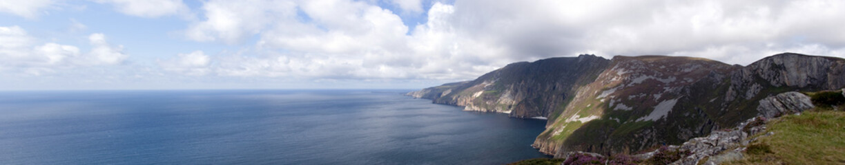 Panorama from top of Slieve League