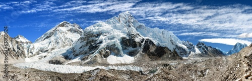 panoramic view of Everest