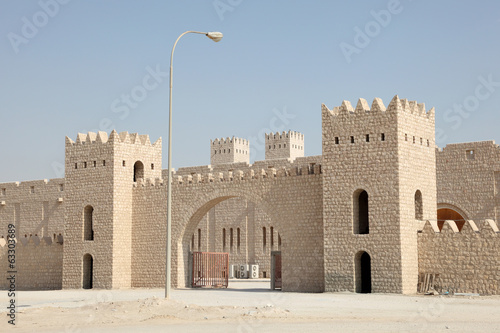 Sheikh Faisal Museum in Qatar, Middle East
