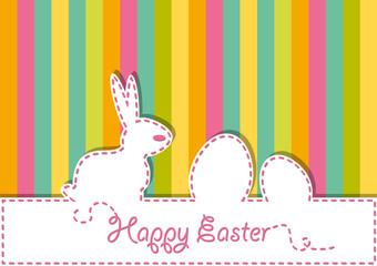 Happy Easter. Vector