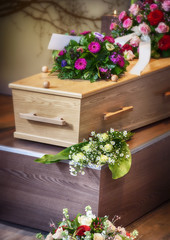 arrangement  for funeral