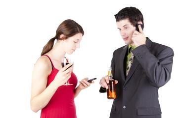 On phones