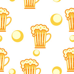 seamless pattern: cold drinks