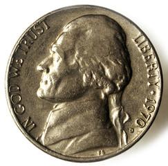 Nickel United States coin  ניקל מטבע אמריקני